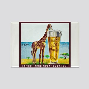 Hungary Beer Label 11 Rectangle Magnet