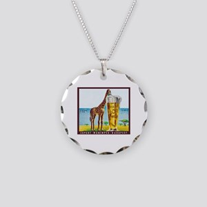 Hungary Beer Label 11 Necklace Circle Charm