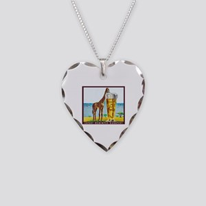 Hungary Beer Label 11 Necklace Heart Charm