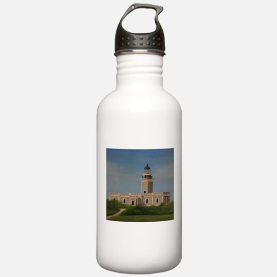 Cabo Rojo Lighthouse Water Bottle