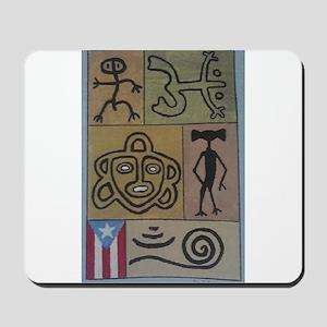 Taino Petroglyphs Mousepad
