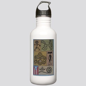 Taino Petroglyphs Stainless Water Bottle 1.0L
