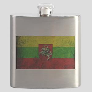Lithuania Flag Flask