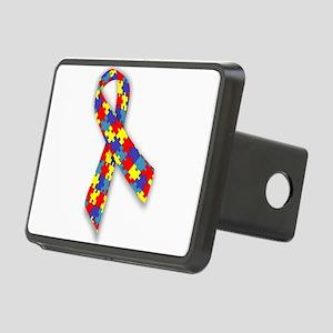 AutismAwareness Rectangular Hitch Cover