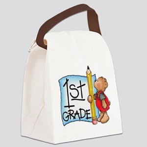 FirstGrade Canvas Lunch Bag