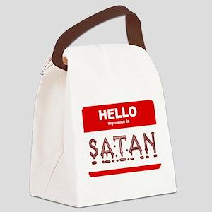 satan Canvas Lunch Bag