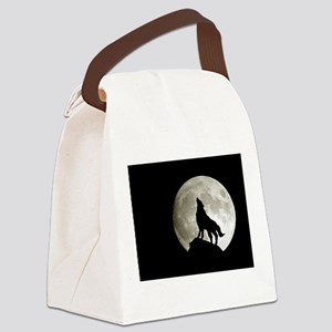 wolf8 Canvas Lunch Bag
