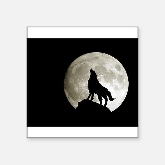 "wolf8.jpg Square Sticker 3"" x 3"""