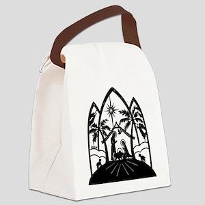 nativitycene Canvas Lunch Bag