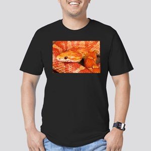 Corn Snake Men's Fitted T-Shirt (dark)