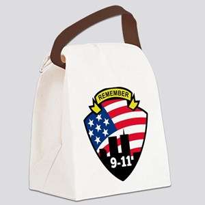 9-11Icon Canvas Lunch Bag