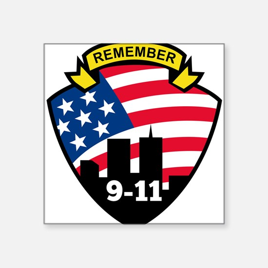 "9-11Icon.jpg Square Sticker 3"" x 3"""