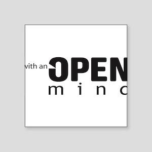"openmind Square Sticker 3"" x 3"""