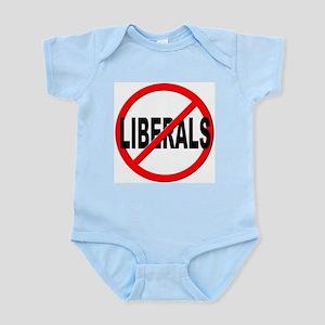 Anti / No Liberals Infant Bodysuit