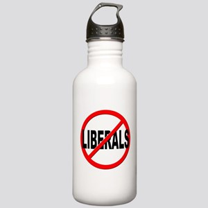 Anti / No Liberals Stainless Water Bottle 1.0L