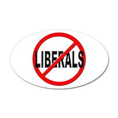 Anti / No Liberals Wall Decal