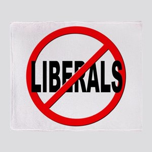 Anti / No Liberals Throw Blanket
