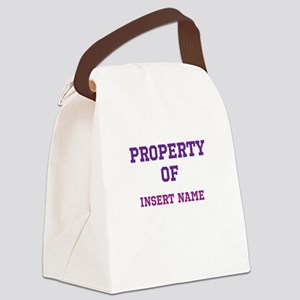Customized Property Canvas Lunch Bag