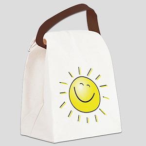 sunshine Canvas Lunch Bag