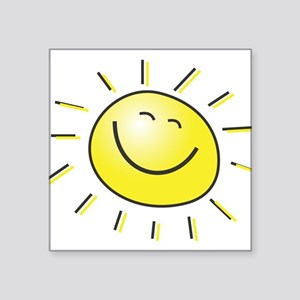 "sunshine Square Sticker 3"" x 3"""
