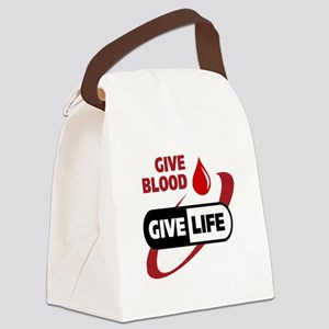 Blood Canvas Lunch Bag