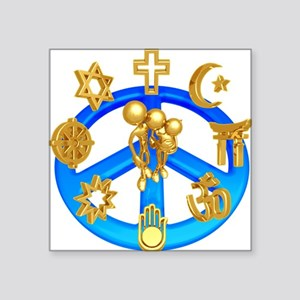 """religions Square Sticker 3"""" x 3"""""""