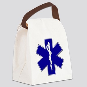 star-of-life Canvas Lunch Bag