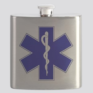 star-of-life Flask