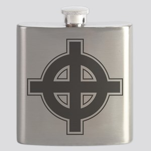 celtic-cross Flask