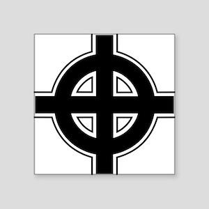 "celtic-cross Square Sticker 3"" x 3"""