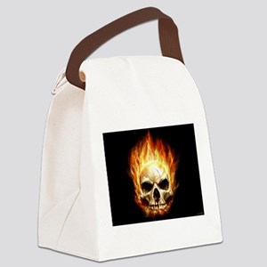 Scorching_Headache_by_waste84 Canvas Lunch Bag