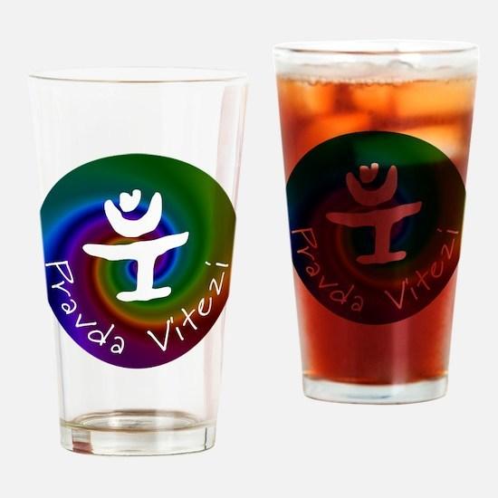 Pravda Vitezi Drinking Glass