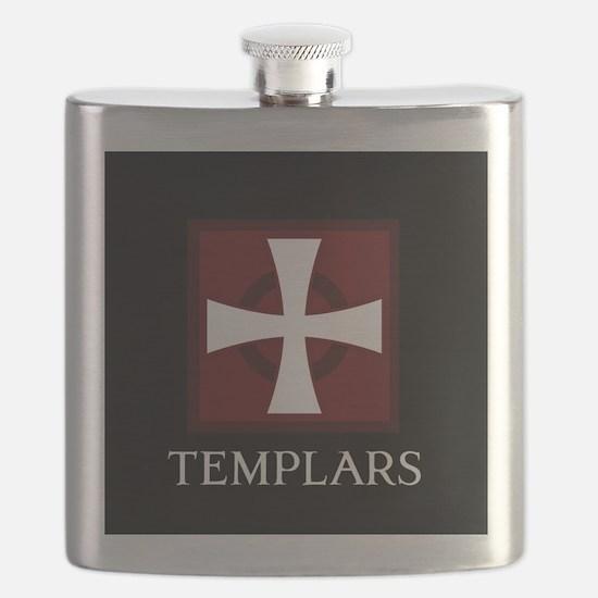 Templar Logo Flask