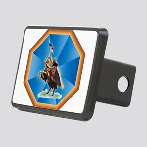 knight Rectangular Hitch Cover