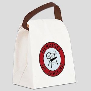heroinesofjerichoemblem Canvas Lunch Bag
