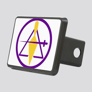 CryptMasons Rectangular Hitch Cover