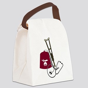 shriners Canvas Lunch Bag