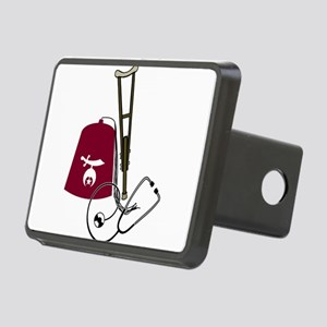 shriners Rectangular Hitch Cover