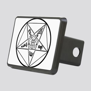 OES-BW Rectangular Hitch Cover