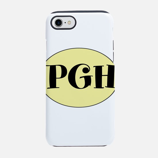PGH, Pittsburgh, PA, iPhone 7 Tough Case