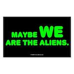 aliens.rect.sticker Sticker (Rectangle 10 pk)