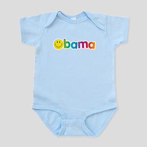 Obama Smiley Face Infant Bodysuit