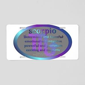 scorpioWM Aluminum License Plate