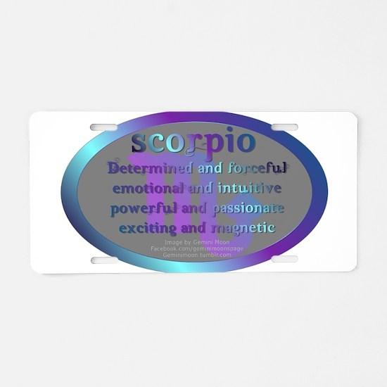 scorpioWM.png Aluminum License Plate