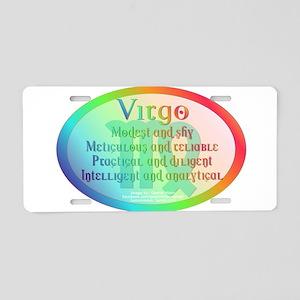 virgoWM Aluminum License Plate