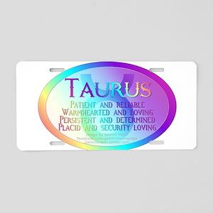 taurusWM Aluminum License Plate