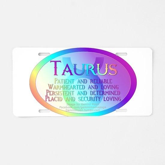 taurusWM.png Aluminum License Plate