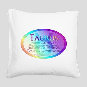 taurusWM Square Canvas Pillow