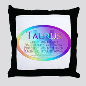 taurusWM Throw Pillow