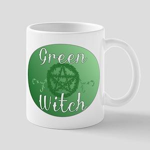 green witch clear Mug